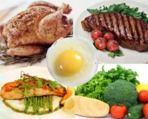 Белковая диета: таблица избавления от веса