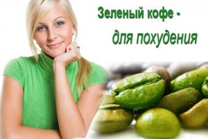 Зеленый кофе для похудения — стройное решение ваших проблем